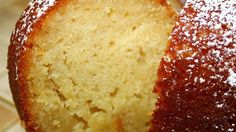 Moist and buttery cake made from readily available ingredients with a luscious butter sauce.
