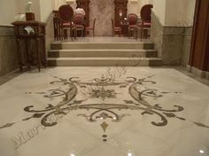 Custom Marble Floor Design - traditional - floors - toronto - Marvelous Marble Design Inc.