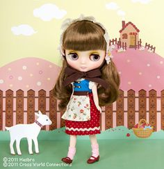 """Middie Blythe """"Milk and Honey"""" - after having her in my house for a BCUK raffle prize, I want one of my own!"""
