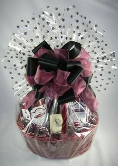 Dog Lover's Wine Gift Basket