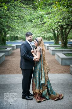 Beautiful wedding portrait taken in Chicago Illinois. Muslim bride, South Asian wedding photography by Maha Designs . www.facebook.com/mahadesigns 630-915-9781