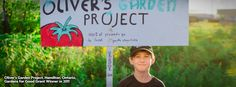 Two Kids With Huge Hearts: Oliver's Garden Project | Nature's Path