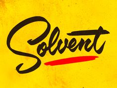 Solvent by Jeffrey Devey