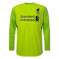 Liverpool FC 2017-18 Season Third LS Goalkeeper LFC Shirt [K722]