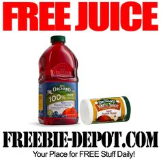 FREE Juice from Old Orchard