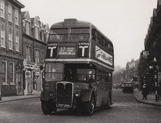 London transport RT119 on route 37. 50's.
