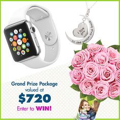 I just entered to win the Eve's Addiction A Mother's Love is Forever Sweepstakes, with a grand prize valued at $720 - including an Apple Watch Sport and more! Join me! #EvesAddictionSweeps