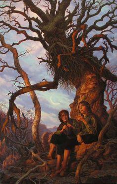 Gli Arcani Supremi (Vox clamantis in deserto - Gothian): Tokien's fan art