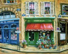 Marilyn Dunlap - paris cafe