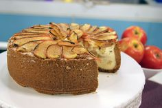 Cheesecake de Maçã e Canela | Receitas | Dia Dia