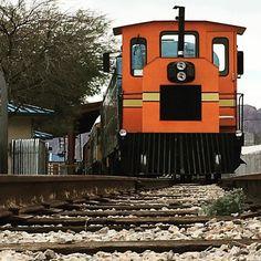 Tsuu tsuu. The train is coming.  #junamuseo #train #trainmuseum #locomotive #juna #veturi #lasvegas  #nevada #nevadastaterailroadmuseum