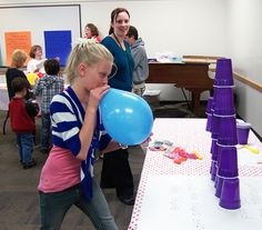 Kid Friendly: 10 Minute to Win It Games - registration required