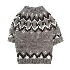 Icelandic Pattern Sweater - $35.00