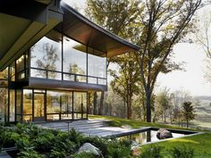 Blue ridge Residencei Charlottesville, VA by Voorsanger Architects | Landscape by NBWLA