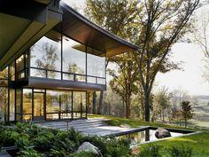 Blue ridge Residencei Charlottesville, VA by Voorsanger Architects | Landscape by NBWLA
