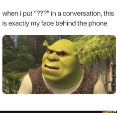 Memes Humor, True Memes, Funny Relatable Memes, Hilarious Memes, Shrek Memes, Jokes, Hilarious Quotes, Funny Vid, Meme Page