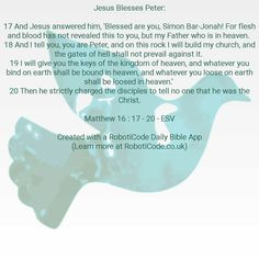 "#Bible verse found with ""Prayers & Blessings Daily"" for Android, iPhone and Kindle Fire! http://www.roboticode.co.uk"