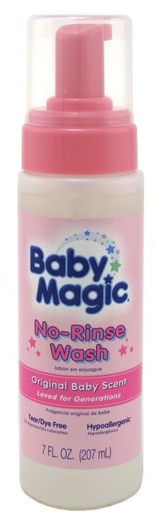 Baby Magic No-Rinse Wash 7oz Original Baby Scent (2 Pack) * Want to know more, click on the image. (This is an Amazon Affiliate link and I receive a commission for the sales)