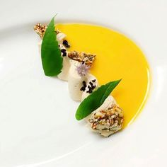 """6,777 Likes, 46 Comments - The Art of Plating (@theartofplating) on Instagram: """"A play on milk and cereal w/ furikake granola, whipped foie gras, raw buttermilk, pumpkin…"""""""