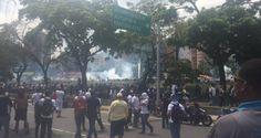 ¡GENOCIDAS! GNB asesina a menor de edad durante protesta en Las Mercedes #3Mayo