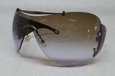 Christian Dior DIORITO 1 Shield Sunglasses LRVJN 110 Brown Satin Gradient
