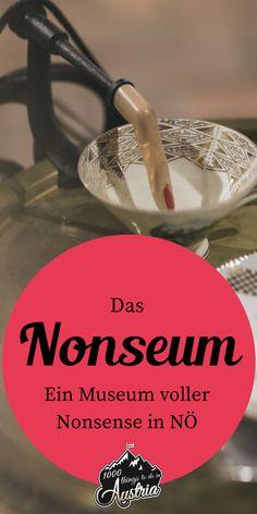 In diesem Museum in Niederösterreich findet man nur Ausstellungsstücke, die kein Mensch braucht. Tableware, Travel, Families, Travel Inspiration, Travel Advice, Places, Vacation, Viajes, Dinnerware