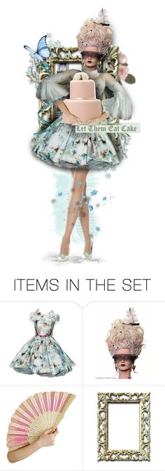 """""""Let Them Eat Cake!"""" by girlyideas ❤ liked on Polyvore featuring art"""