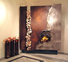 WOW....That's a fireplace.