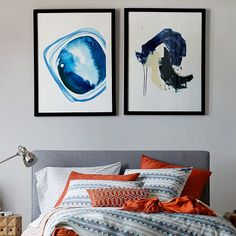 Minted for west elm - Blue Stone | west elm