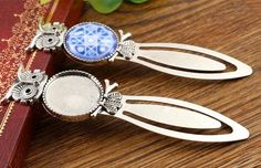 1.23$  Watch here - New Fashion 2pcs 20mm Inner Size Antique Silver Simple Style Handmade Bookmark Cabochon Base  Cameo Setting (H1-13)   #magazineonlinewebsite