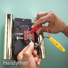 Repair a Doorbell: Fix a Dead or Broken Doorbell | The Family Handyman
