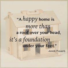 Help #HabitatforHumanity #Sarasota build #happyhomes! Donate your gently used furniture to #HabitatforHumanityRestore and receive 10% off your  #DutchCrafters #AmishFurniture #Showroom purchase! #habitatsrq #srq #amishproverb #quote