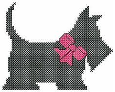 Scotty Dog (Cross Stitch)