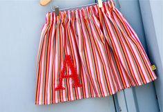 30 minute monogrammed skirt