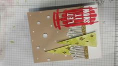 Stampin' Up! demonstrator project showing a fun alternate use for the Watercolor Winter Simply Created Card Kit.