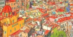 fantastic cities coloring book - Google Search