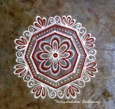 My creations: FREEHAND KOLAM