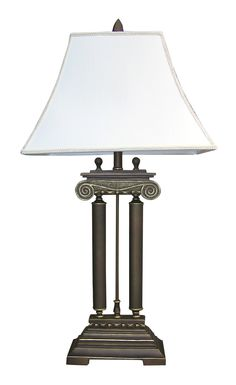 """Home Decor 38"""" H Table Lamp with Empire Shade"""