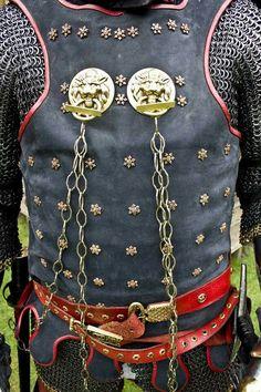 14th century Coat of Plates armour