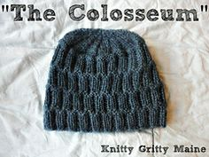 Ravelry: The Colosseum - The Hat pattern by Codi Booher