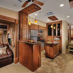 2015 Forest River Sierra 355RE Kitchen