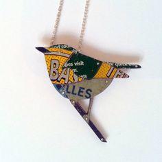 Sally Ayling Tin Necklace