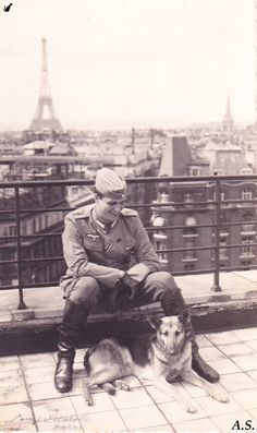 German occupation, Paris.
