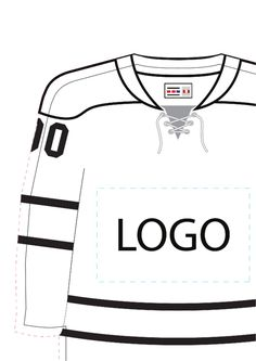 Need a Hockey Jersey Template? Here's a free template! Create ready-to-use forms at Hockey Crafts, Hockey Decor, Hockey Room, Hockey Tournaments, Hockey Goalie, Hockey Teams, Hockey Players, Field Hockey, Hockey Birthday Parties