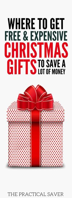 Free Christmas gifts, anyone? Learn the best place to get your Christmas gifts to save extra money during this holiday season. You can also make extra money with these Christmas tips and tricks. Holiday savings plan l Christmas shopping on a budget l Christmas l payoff debt fast l make money online l legit survey sites that pay l earn extra cash from home. #freegifts  #christmas  #christmasgifts  #MakeMoneyOnline  #moneytips  #holidays  #holidayseason  #makemoney #savemoney #budgeting