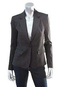 ALICE + OLIVIA PINSTRIPE BLAZER Size Small  Retail: $138.90  PlushAttire.Com Price: $138.90  65% OFF RETAIL!  #fashion