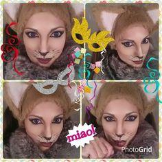 Make up cats! Mew! <3   https://play.google.com/store/apps/details?id=com.roidapp.photogrid  iPhone  https://itunes.apple.com/us/app/photo-grid-collage-maker/id543577420?mt=8