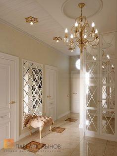 Фото дизайн прихожей из проекта «Дизайн трехкомнатной квартиры в классическом стиле, ЖК Аристократ, 78 кв.м.»