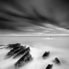 Photographer Captures Dramatic Depth of Nature in Black and White George Digalakis stunning and unique take on landscape photography.George Digalakis stunning and unique take on landscape photography. Beautiful Landscape Photography, Landscape Photography Tips, Photography Basics, Exposure Photography, Types Of Photography, Landscape Photos, Beautiful Landscapes, Photography Ideas, Photography Composition