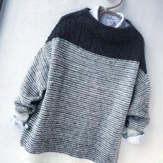 Women& Wool Sweater Fashion sweater and cardigan, fall & wi& Poncho Pattern Sewing, Knitting Patterns, Sewing Patterns, Lace Knitting, Knit Crochet, Pullover Mode, Boro, Wool Sweaters, White Sweaters